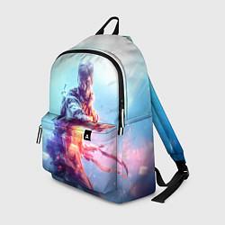 Рюкзак Battlefield 5 цвета 3D-принт — фото 1