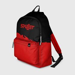 Рюкзак Skillet: Red Section цвета 3D-принт — фото 1