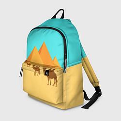 Рюкзак Пирамиды Египта цвета 3D-принт — фото 1