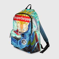 Рюкзак DBZ: Super Saiyan цвета 3D-принт — фото 1