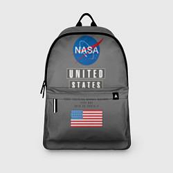 Рюкзак NASA: United States цвета 3D-принт — фото 2