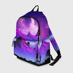 Рюкзак No Man's Sky: Neon Mountains цвета 3D — фото 1