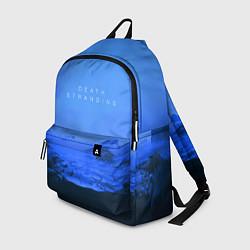Рюкзак Death Stranding: Blue Heaven цвета 3D-принт — фото 1