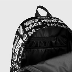 Городской рюкзак с принтом Истинный геймер, цвет: 3D, артикул: 10171055705601 — фото 2