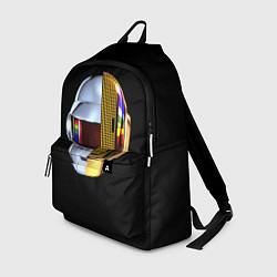 Рюкзак Daft Punk: Smile Helmet цвета 3D-принт — фото 1