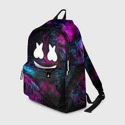 Рюкзак Marshmello NEON цвета 3D-принт — фото 1
