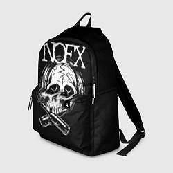 Рюкзак NOFX Skull цвета 3D — фото 1
