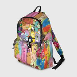 Рюкзак Adventure time цвета 3D — фото 1