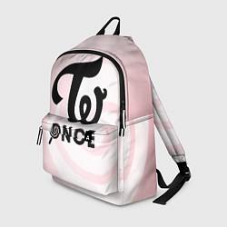 Рюкзак TWICE ONCE цвета 3D-принт — фото 1