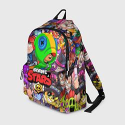 Рюкзак BRAWL STARS LEON цвета 3D — фото 1