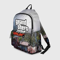 Рюкзак GTA Online цвета 3D-принт — фото 1