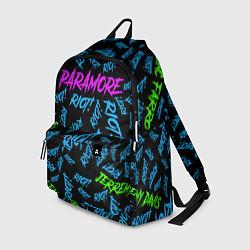 Рюкзак Paramore RIOT! цвета 3D-принт — фото 1