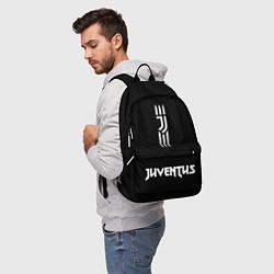 Рюкзак JUVENTUS BLACK WHITE цвета 3D — фото 2