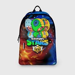 Городской рюкзак с принтом BRAWL STARS LEON SKINS, цвет: 3D, артикул: 10222343705601 — фото 2