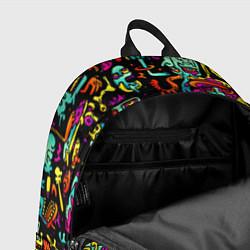 Рюкзак Zombi Slime цвета 3D-принт — фото 2
