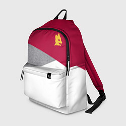 Рюкзак AS Roma Red Design 2122 цвета 3D-принт — фото 1