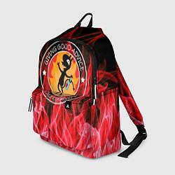 Рюкзак FIRE цвета 3D-принт — фото 1