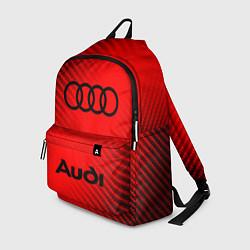 Городской рюкзак с принтом AUDI АУДИ, цвет: 3D, артикул: 10266433305601 — фото 1