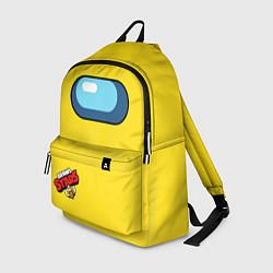 Городской рюкзак с принтом Among Us Brawl Stars, цвет: 3D, артикул: 10283844105601 — фото 1