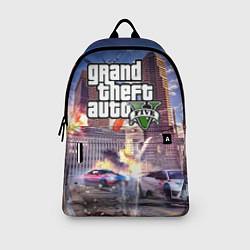 Рюкзак ЭКШЕН Grand Theft Auto V цвета 3D-принт — фото 2