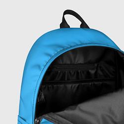 Рюкзак СкриптонитСвистки и бумажки цвета 3D-принт — фото 2