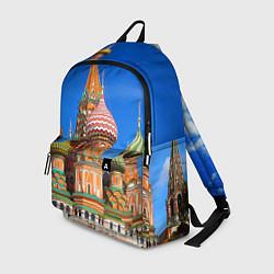 Рюкзак Храм Василия Блаженного цвета 3D-принт — фото 1