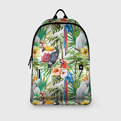 Рюкзак Попугаи в тропиках цвета 3D-принт — фото 2