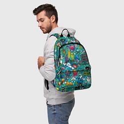 Рюкзак Стикербомбинг цвета 3D — фото 2