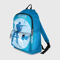 Рюкзак Биатлон цвета 3D-принт — фото 1
