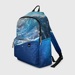 Рюкзак Стихия воды цвета 3D — фото 1