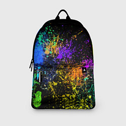 Рюкзак Брызги красок цвета 3D — фото 2