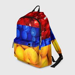 Рюкзак Флаг Армении цвета 3D-принт — фото 1