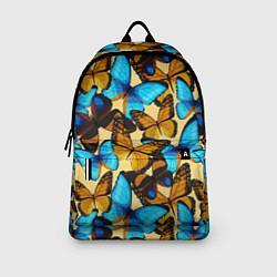 Рюкзак Бабочки цвета 3D-принт — фото 2