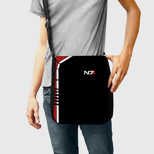 Сумка на плечо MASS EFFECT N7 / 3D-принт – фото 2