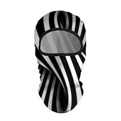 Балаклава Оптические иллюзии цвета 3D-черный — фото 1