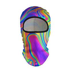 Балаклава Цветные разводы цвета 3D-черный — фото 1