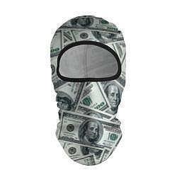 Балаклава Банкноты цвета 3D-черный — фото 1