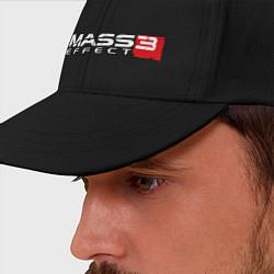 Бейсболка Mass Effect 3 цвета черный — фото 2
