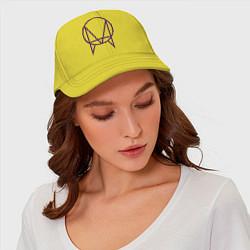 Бейсболка Skrillex Symbol цвета желтый — фото 2