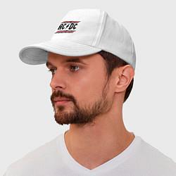 Бейсболка AC/DC Voltage цвета белый — фото 1