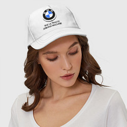 Бейсболка BMW Driving Machine цвета белый — фото 2