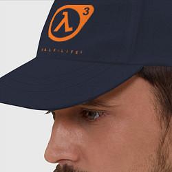 Бейсболка Half-Life 3 цвета тёмно-синий — фото 2