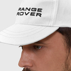 Бейсболка Range Rover цвета белый — фото 2