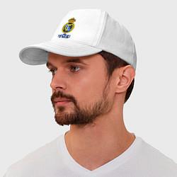Бейсболка Real Madrid цвета белый — фото 1