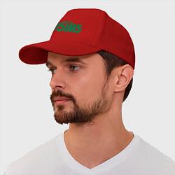 Бейсболка Sims цвета красный — фото 1