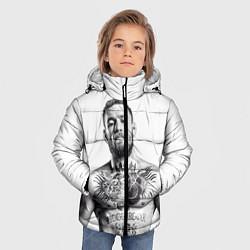 Детская зимняя куртка для мальчика с принтом Конор Макгрегор, цвет: 3D-черный, артикул: 10102383506063 — фото 2