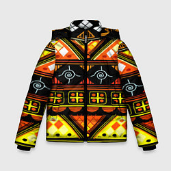 Куртка зимняя для мальчика Element ethnic цвета 3D-черный — фото 1