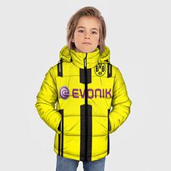 Куртка зимняя для мальчика BVB FC: Evonik цвета 3D-черный — фото 2