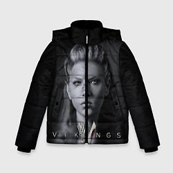 Куртка зимняя для мальчика Vikings: Ladgerda цвета 3D-черный — фото 1