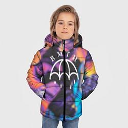 Детская зимняя куртка для мальчика с принтом BMTH Rain, цвет: 3D-черный, артикул: 10107031406063 — фото 2